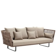 Kettal - Bitta 3-Sitzer Outdoor Sofa