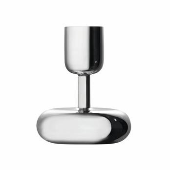 iittala - Nappula Kerzenständer - stahl/lackierter Stahl/H 10.7cm