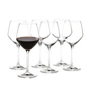 Holmegaard - Set de 6 copas de vino tinto Perfection