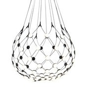 Luceplan - Mesh D86 LED - Suspension Ø80cm