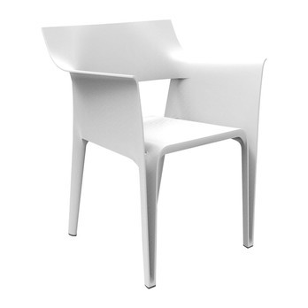 Vondom - Pedrera Armchair - white/H x W: 83 x 58cm/for indoor and outdoor