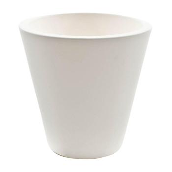 Serralunga - New Pot Vase Ø 50cm - weiß/matt