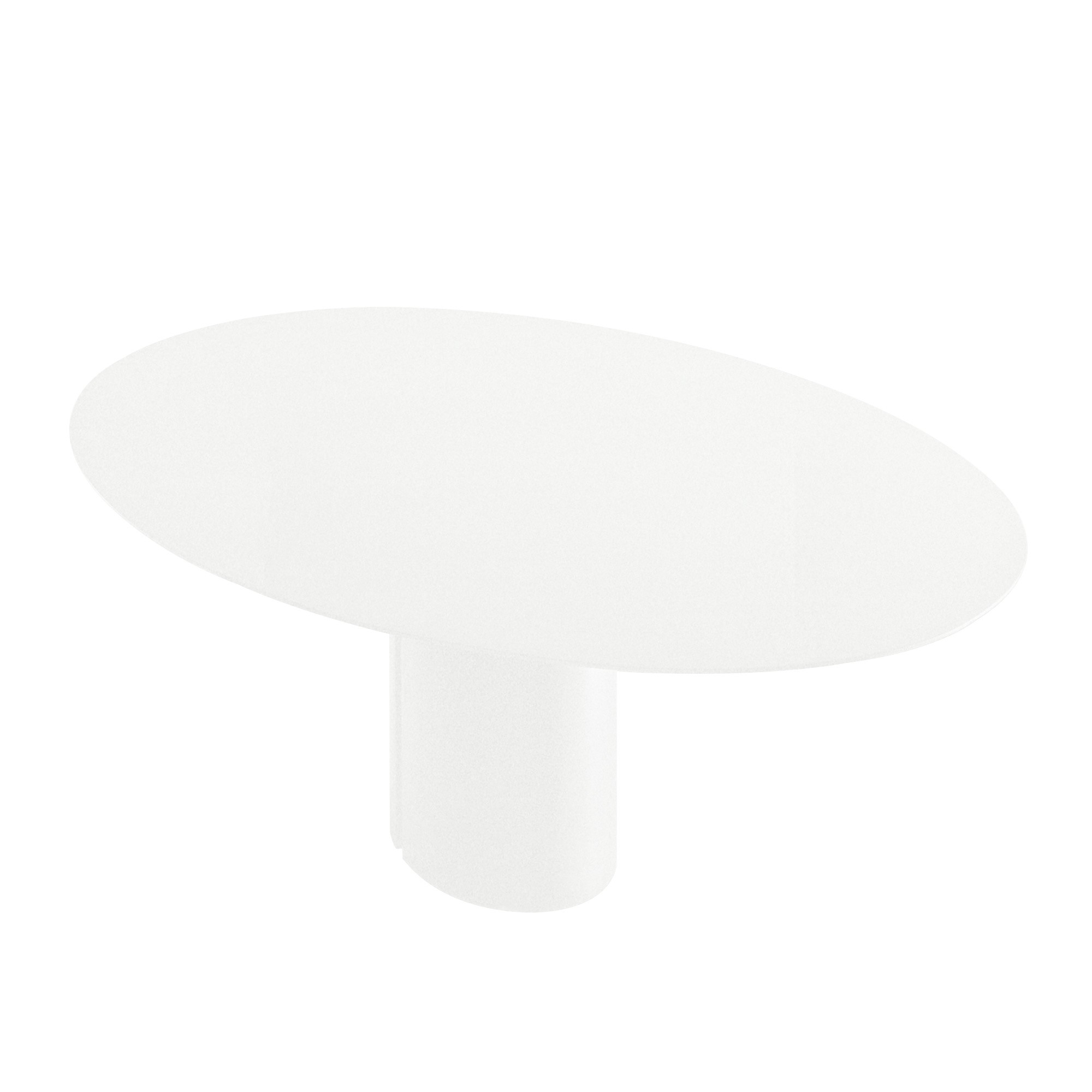 Mdf Italia Nvl Dining Table Oval 120x200cm Ambientedirect