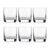 Schott Zwiesel - Convention Whisky Glas 6er Set - transparent/300ml/H: 8.9cm