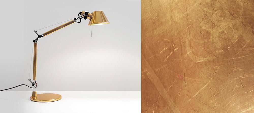 Hersteller Artemide-Tolomeo-gold