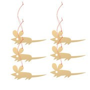 Vitra - Girard - Set de 6 ornaments souris