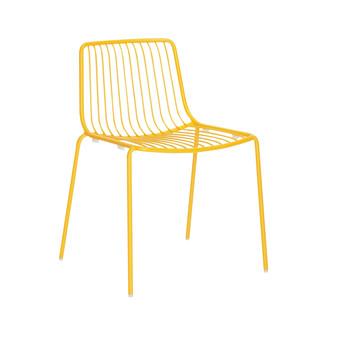 Pedrali - Nolita 3650 Gartenstuhl/ niedrige Rückenlehne - gelb