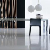 Molteni & C - Diamond Tisch - aluminium/Glasplatte/Größe 4/250x100cm