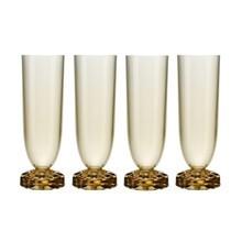 Kartell - Jellies Family Champagnerflöten Set 4tlg.