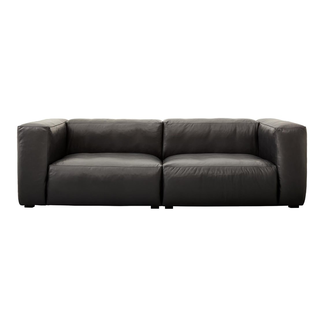 Mags Soft Leather Sofa 228x95.5x67cm