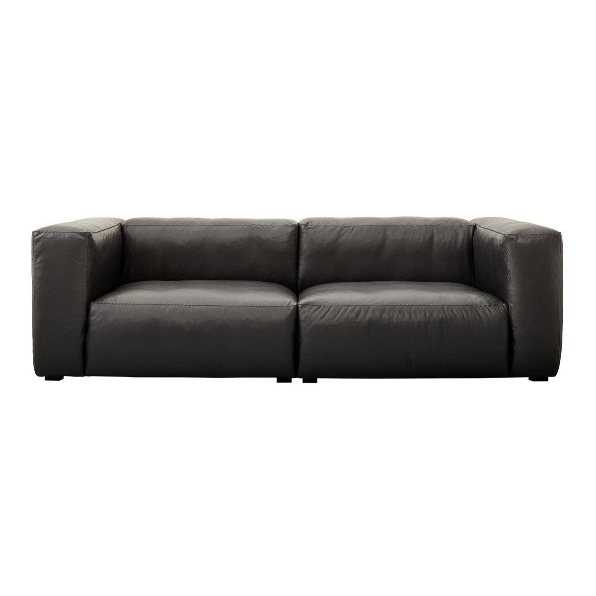 mags soft 2 5 sitzer ledersofa hay. Black Bedroom Furniture Sets. Home Design Ideas