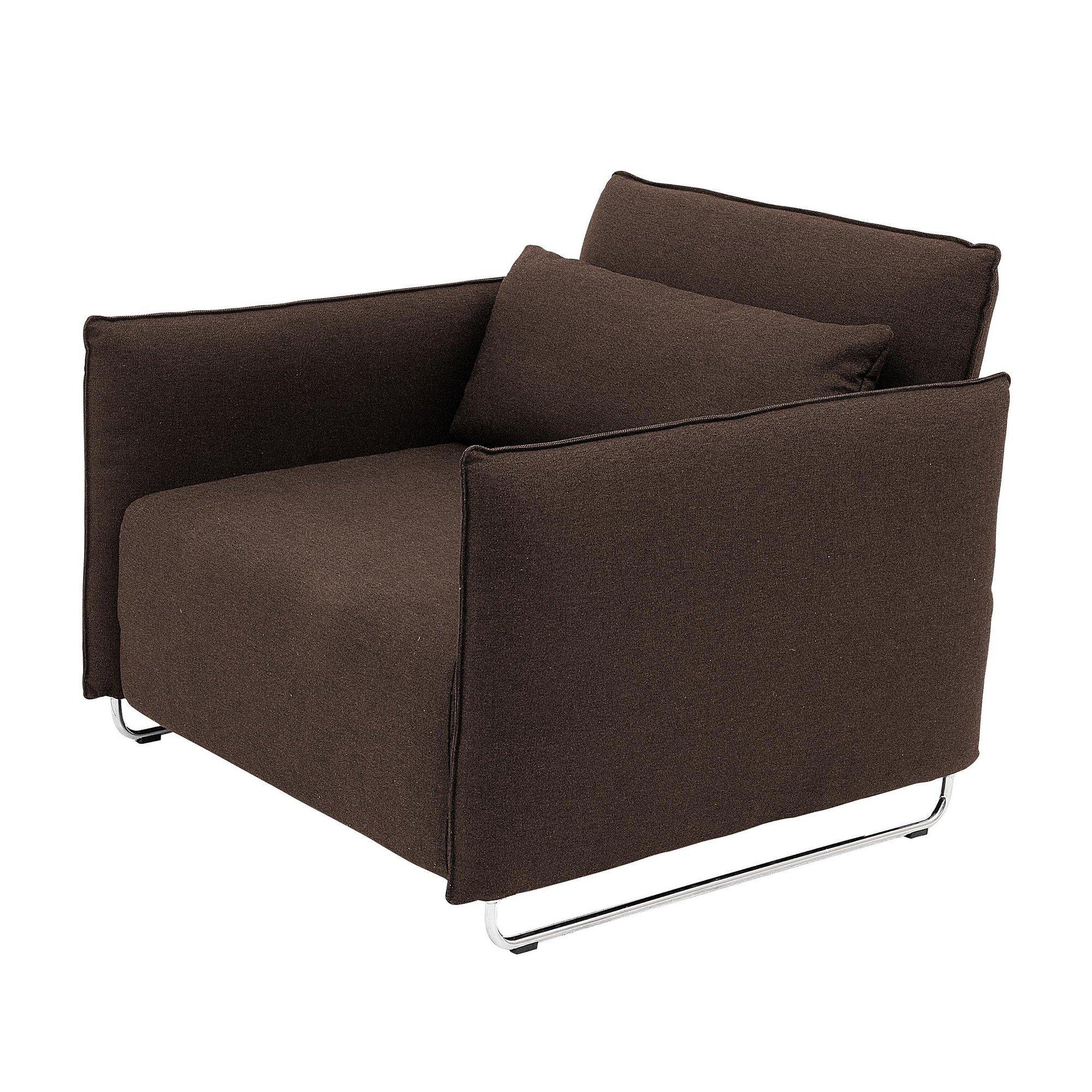 Softline cord sessel schlafsessel ambientedirect for Slaap stoel