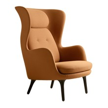 Fritz Hansen - Ro™ JH1 Armchair Dark Brown Base