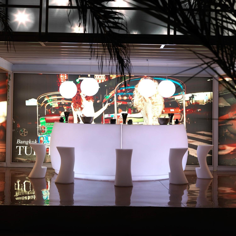 Vondom Fiesta Bar Illuminated Ambientedirect