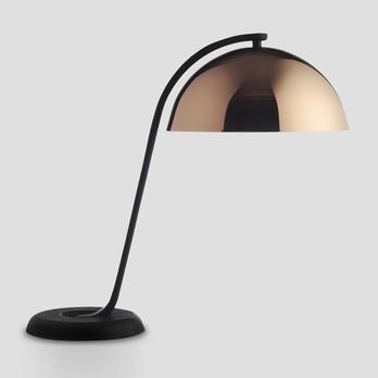 Stehlampe Schwarz mit Bronze