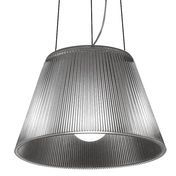 Flos - Romeo Moon S1 Suspension Lamp - silver/matt