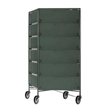 Kartell - Mobil 6 - Container sur roulettes