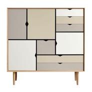 Andersen Furniture - Andersen Furniture S3 Kommode Fronten bunt