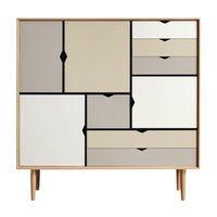 Andersen Furniture - Andersen Furniture S3 Cupboard Multicolored
