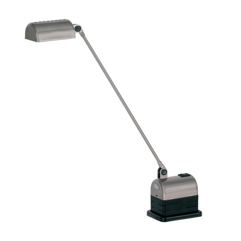 office lamp. lumina daphinette 35 office lamp nickelplatedmetal r