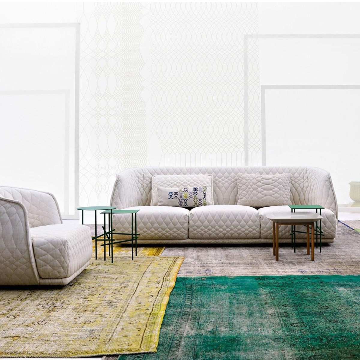 Redondo Sofa 4-Sitzer | Moroso | AmbienteDirect.com