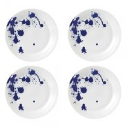 Royal Doulton - Pacific Splash bord set van 4 Ø28cm