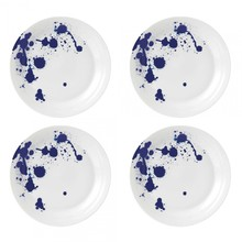 Royal Doulton - Set de 4 assiettes Pacific Splash Ø28cm