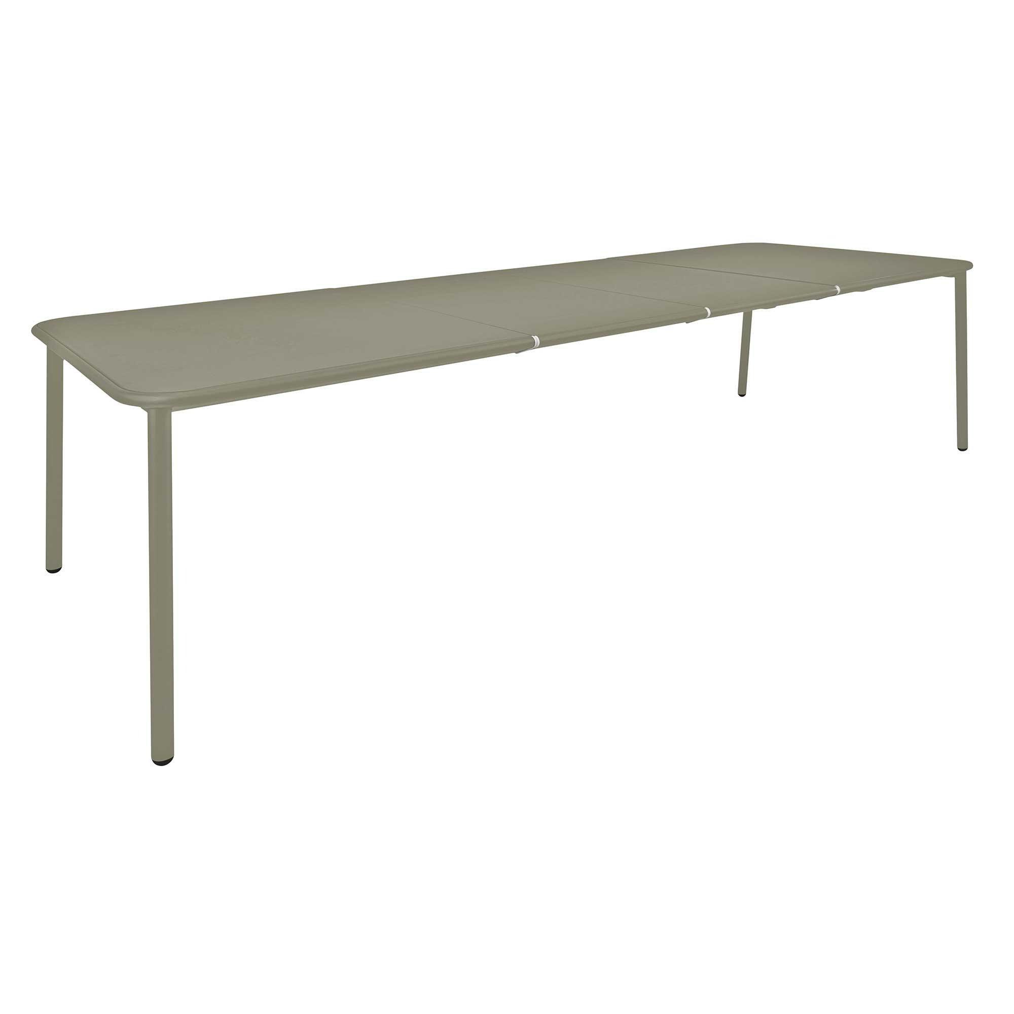Gartentisch alu ausziehbar  emu Yard Aluminium Gartentisch ausziehbar | AmbienteDirect