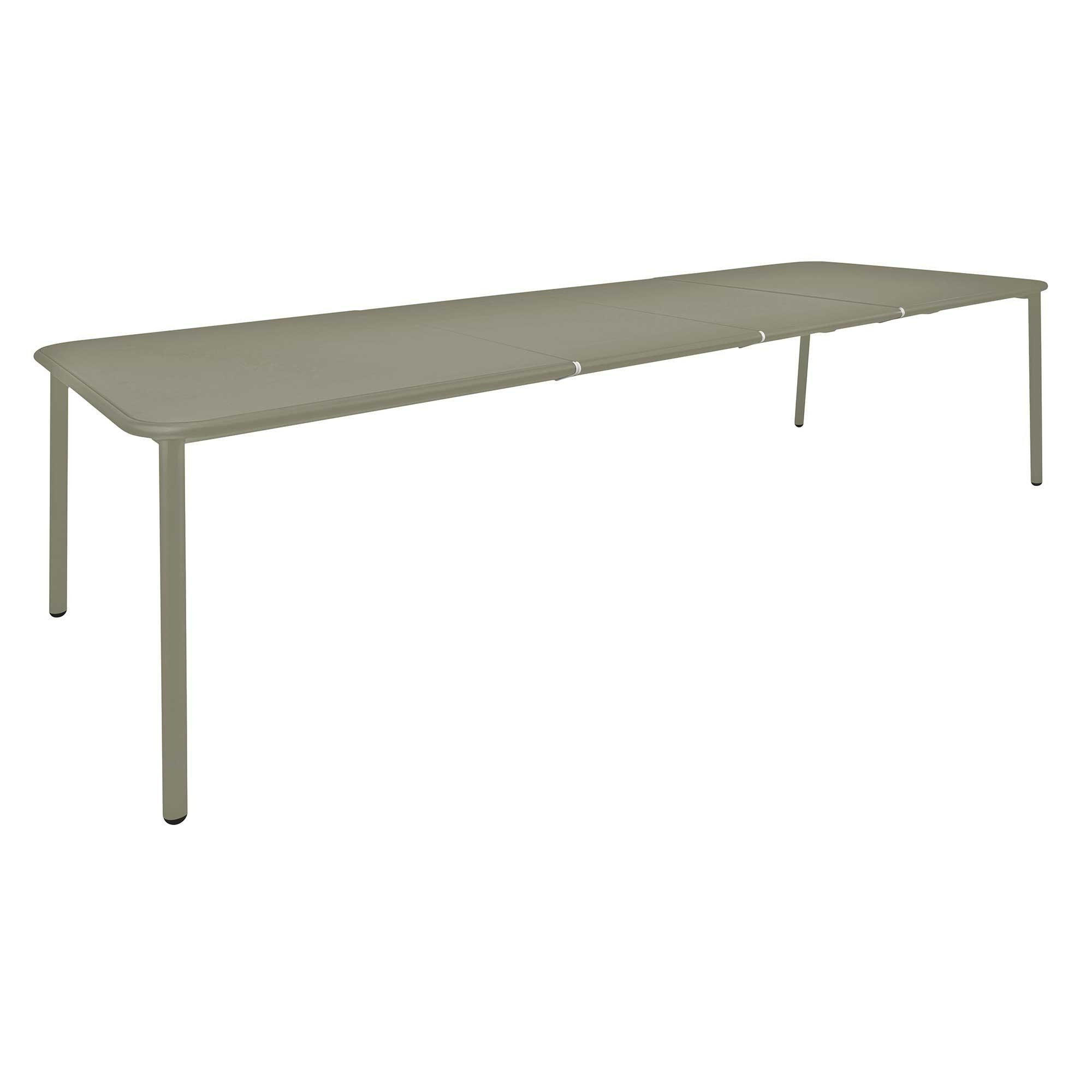 Table de jardin extensible de aluminium Yard