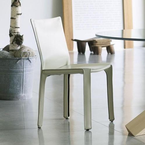 Cassina - Cab Mario Bellini Kernleder-Stuhl