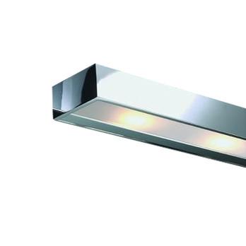 Decor Walther - Box 1-60 Spiegelaufsteckleuchte - chrom/glänzend/LxBxH 60x10x5cm
