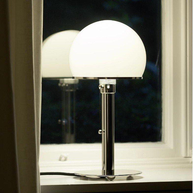 Tecnolumen wagenfeld table lamp ambientedirect tecnolumen wagenfeld table lamp aloadofball Gallery