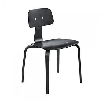 - Kevi 2070 Stuhl - schwarz/lackiert/HxBxT 79x55x50cm