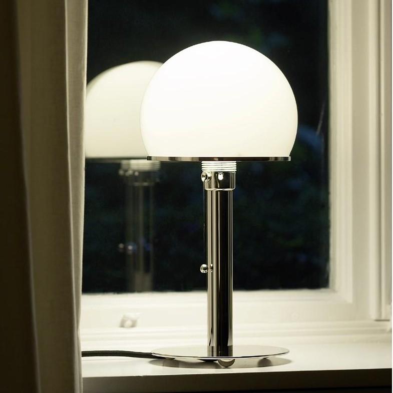 wagenfeld lampe de bureau tecnolumen. Black Bedroom Furniture Sets. Home Design Ideas