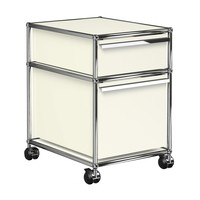 USM Haller - USM Container With Wheels & 2 Drawers