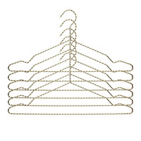 HAY - Twisted Coat Hanger Set Of 6