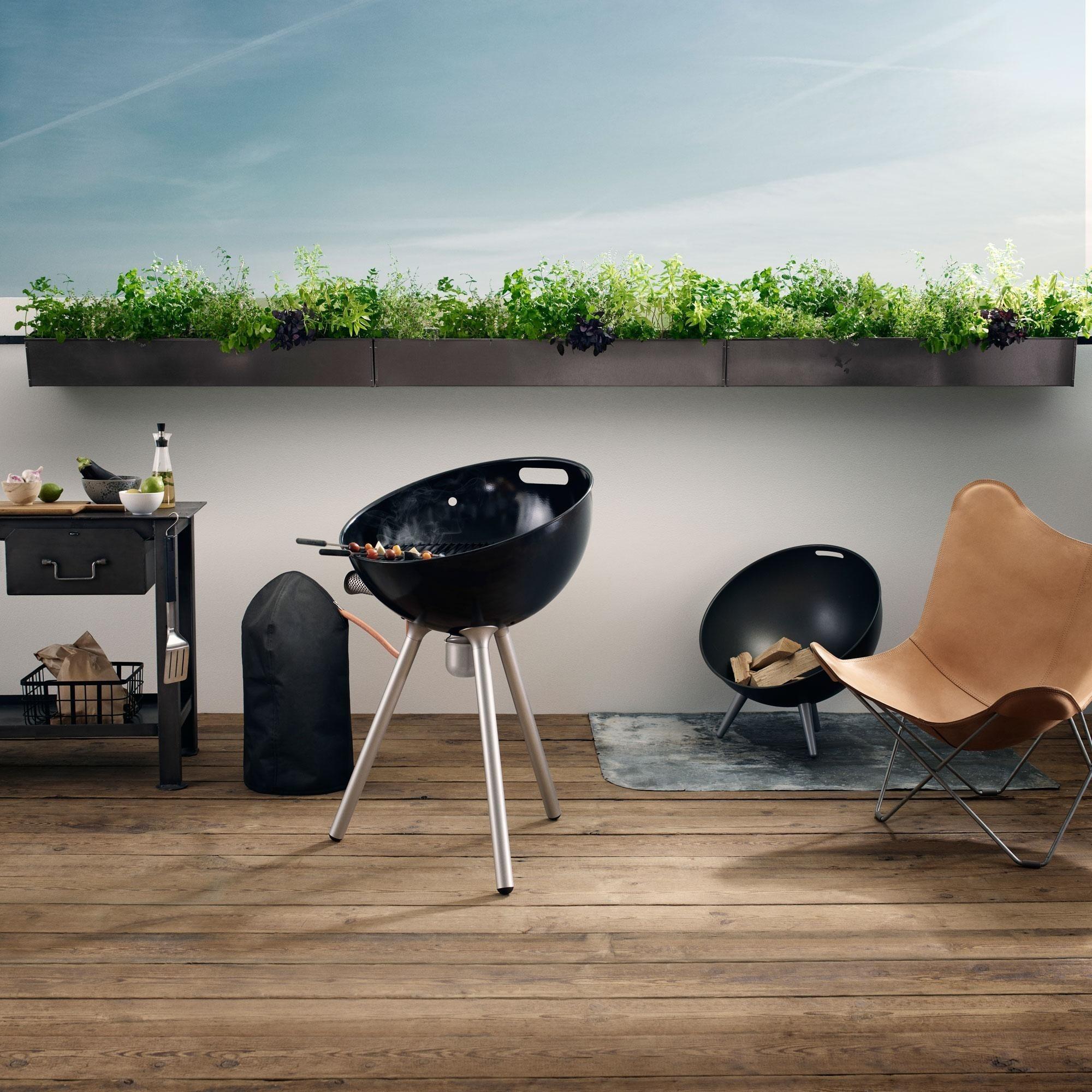 eva solo fireglobe feuerschale ambientedirect. Black Bedroom Furniture Sets. Home Design Ideas