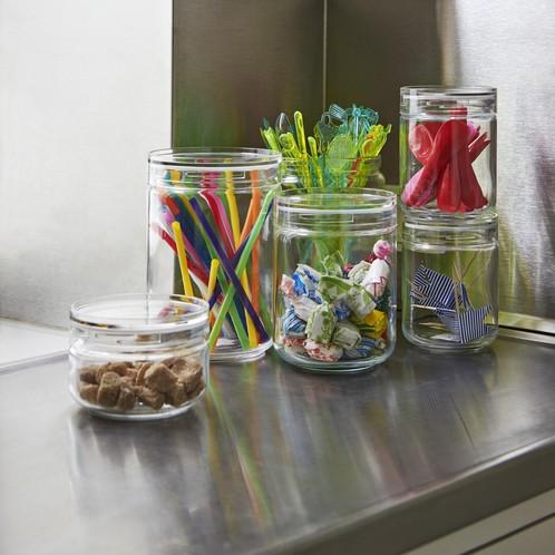 HAY - HAY Japanese Glasbehälter 6er Set