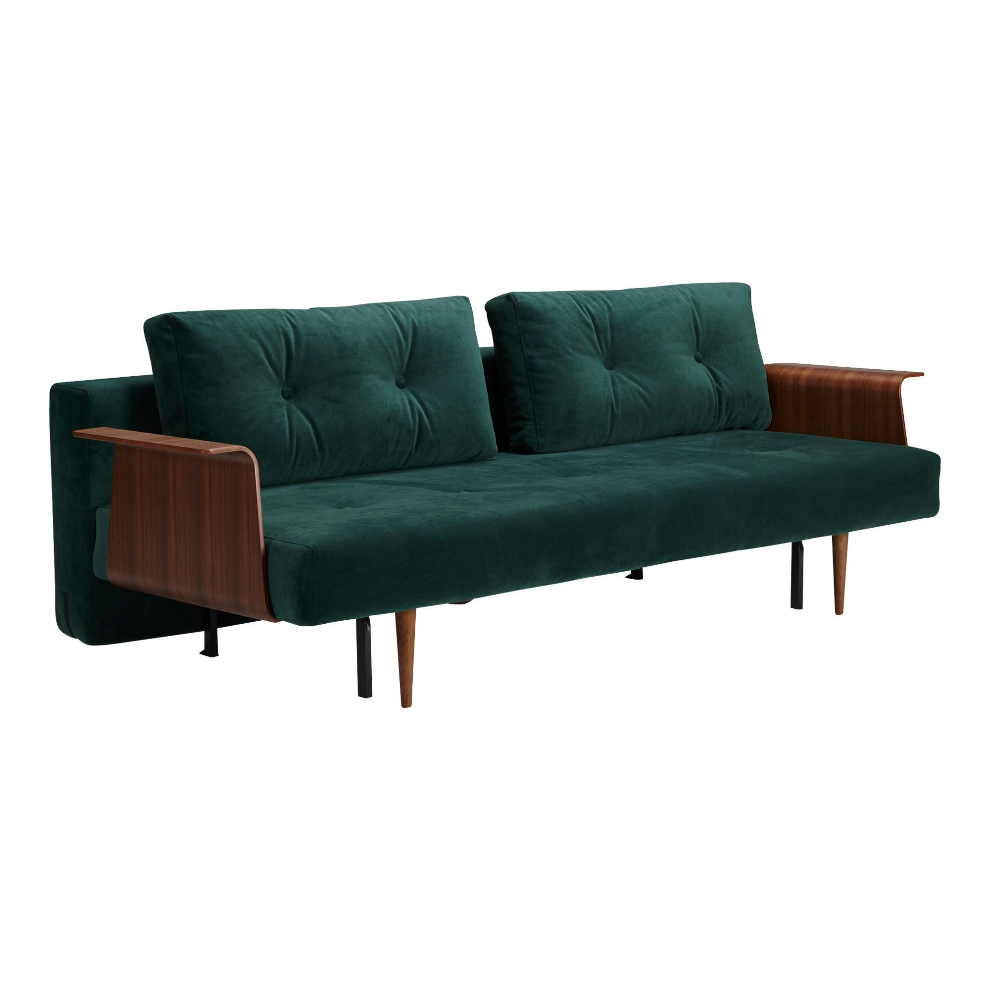 Enjoyable Recast Plus Sofa Bed With Armrests Velvet Cjindustries Chair Design For Home Cjindustriesco