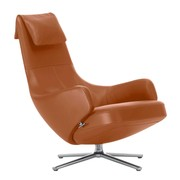 Vitra - Repos Lounge Chair Premium Leather