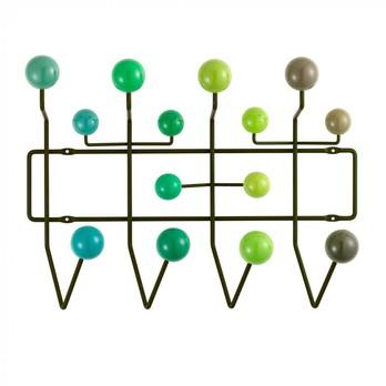 Vitra - Hang it all Garderobe - grün/Holz lackiert/Gestell Metall/Gestell grün