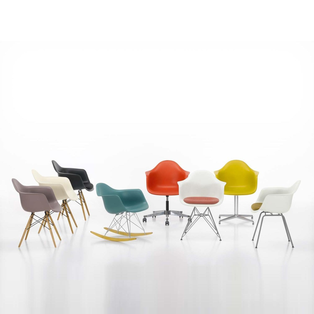 Vitra   Eames Plastic Armchair PACC Office Chair