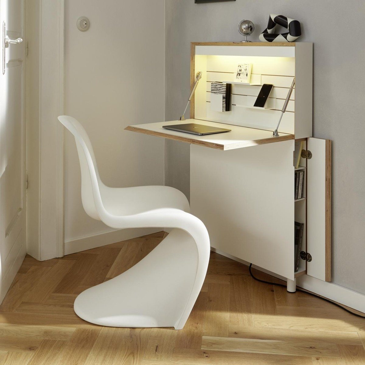 flatmate secr taire bureau scriban m ller. Black Bedroom Furniture Sets. Home Design Ideas