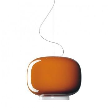Foscarini - Chouchin 1 Pendelleuchte - orange/H 31cm/ Ø 40cm