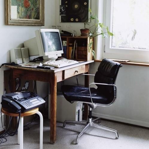 Vitra - EA 208 Soft Pad Eames Alu Chair Bürostuhl