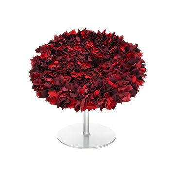 Moroso - Bouquet Sessel - rot/zyklam/bordeau
