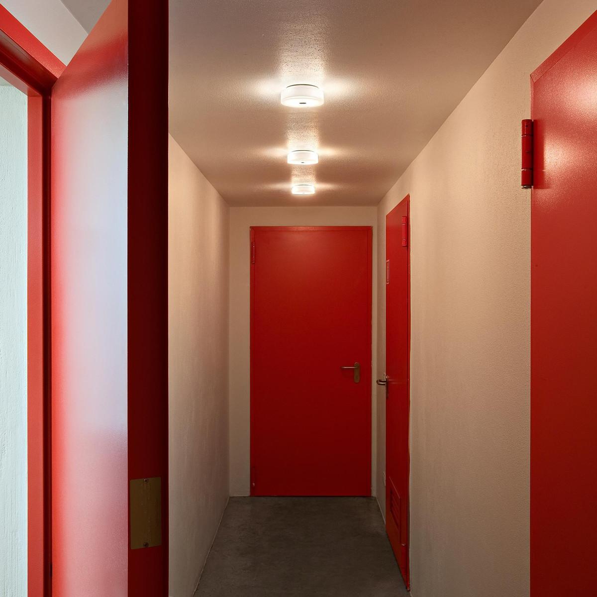 button hl applique murale plafonnier flos. Black Bedroom Furniture Sets. Home Design Ideas