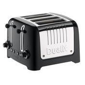 Dualit - Lite Toaster 4-Schlitz - schwarz