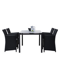 Skagerak - St. Thomas-Set Gardentable + 4 Chairs