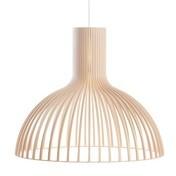 Secto Design - Victo 4250 Pendelleuchte  - birke natur/Birkenholz/inkl. LED-Birne 2800K/1055lm/Kabel/Baldachin weiß
